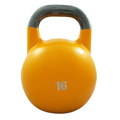 16Kg Competition Steel Kettlebell Pro Grade Kettle Bell Gym Crossfit Strength