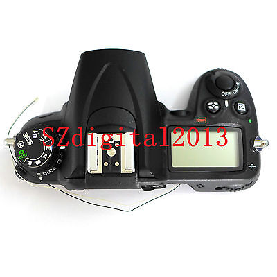 Original NEW LCD Top cover / head Flash Cover For Nikon D7000 Digital Camera