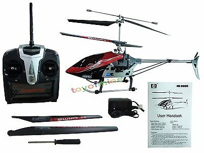 63cm SH8830 2.4GHz GYRO 4CH Channel Metal Frame Radio Remote Control Helicopter