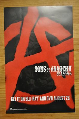 """2014 SDCC SAN DIEGO COMIC CON FOX SONS OF ANARCHY SOA 11""""x17"""" PROMO POSTER NEW"""