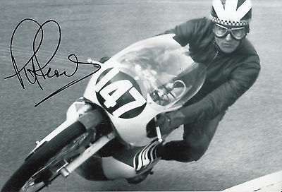 Phil Read Hand Signed Isle of Man TT 12x8 Photo 1.
