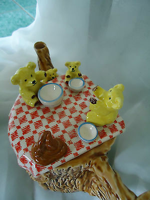 TEDDY BEARS PICNIC Sunshine Ceramics (early Cardew) TEAPOT/ RARE
