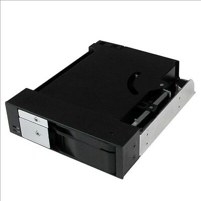 StarTech.com Dual Bay 5.25 inch Trayless Hot Swap Mobile Rack Backplane for 2.5