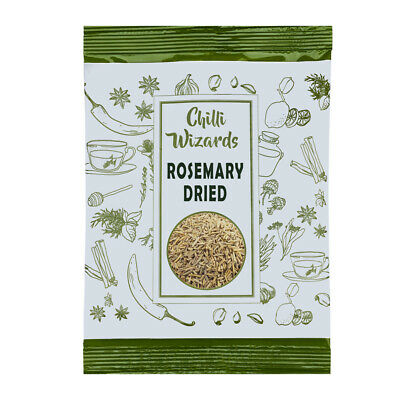Rosemary Dried - Grade A Premium Quality - Chilli Wizards