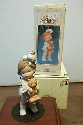 Memories of Yesterday Peggy 1990 Christmas Ornament - MIB