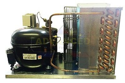 New! Indoor Condensing Unit, 3/4 HP, High Temp, R134a, 220V (Embraco NJ6220Z2)