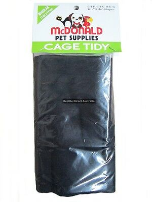 McDonald Bird Cage Tidy Seed Catcher Skirt Elastic Cloth Cover Small Med Large