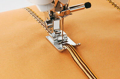 BROTHER GENUINE F019N SEWING MACHINE  5 HOLE CORDING FOOT XC1962052