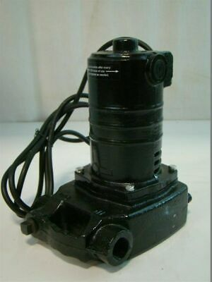 "Portable Cast Iron Utility Pump 120V 8.4A 1500GPH 25 GPM 3/4""In 6'10"" Cord"
