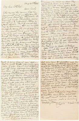 1918 James Naismith Handwritten Signed Letter to his daughter!!!