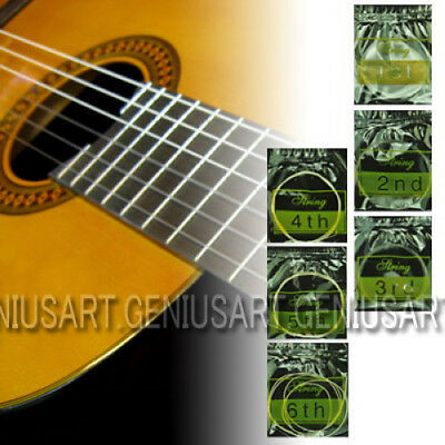 New Set of 6 Nylon Strings 1-6 for Classical Guitar 1m 3ft hu4d