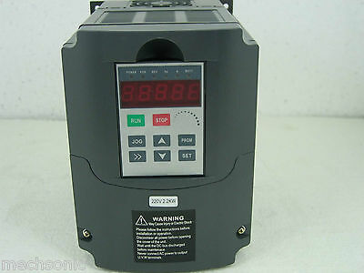 New 2.2KW 220v Variable Frequency Drive VFD Inverter 3HP US1
