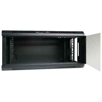"4RU 4U 19"" 19 Inch 450mm Deep Wall Mount Server Rack Data Network Comms Cabinet"