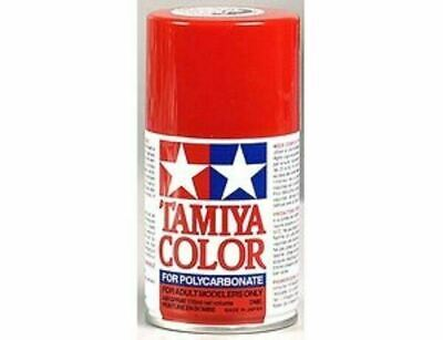 TAMIYA COLORI SPRAY 100 ml PER POLICARBONATO PS2 RED FOR POLYCARBONATE