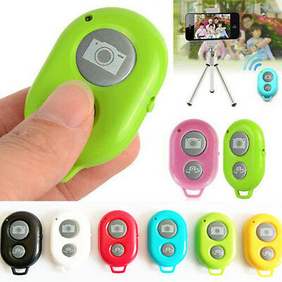 Wireless Bluetooth Camera Remote Control Shutter For iPhone 6 5S 5 4S 4 Samsung