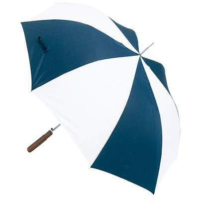 "Lot of 12 New Blue 48"" Auto Open Polyester Umbrella Rain Sun Parasol Automatic"