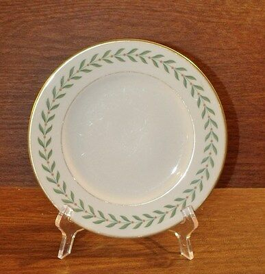 4 pcs Syracuse Old Ivory GREENWOOD Salad Plates and Bread & Butter Plates