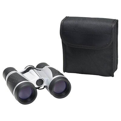 NEW COMPACT 5x30 Power BINOCULARS & CASE Hunting Guide Birding Camping