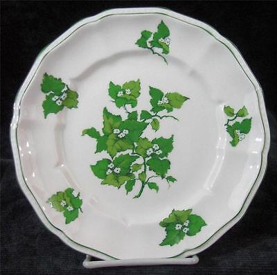 CROWN STAFFORDSHIRE - SALISBURY - BONE CHINA - SALAD or LUNCHEON PLATE - 8.25""