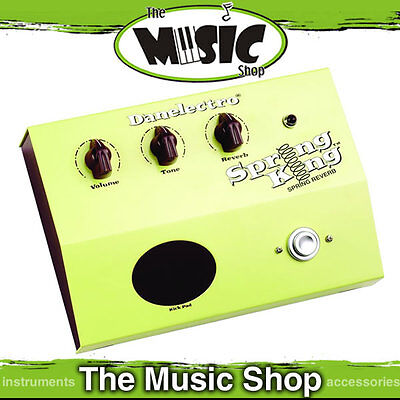 New Danelectro Spring King Reverb Guitar Effects Pedal - RDSR1