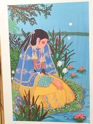 Virginia Stroud Print Signed And Numbered