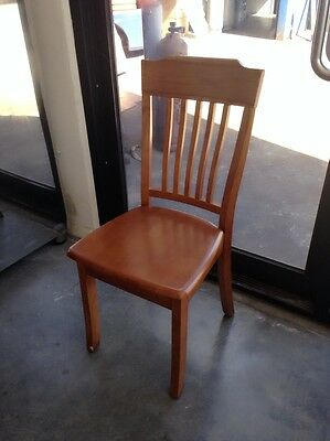 New CHAIR Cafe Restaurant Pub Dining Timber Wooden Chairs Seats Teak