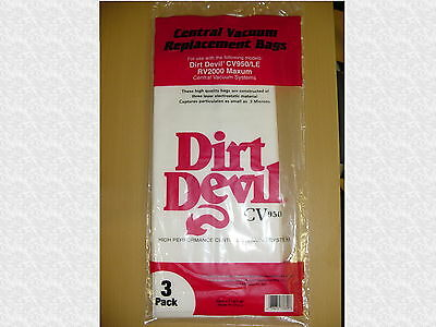 Royal Dirt Devil CV950 RV Central Vacuum Bags