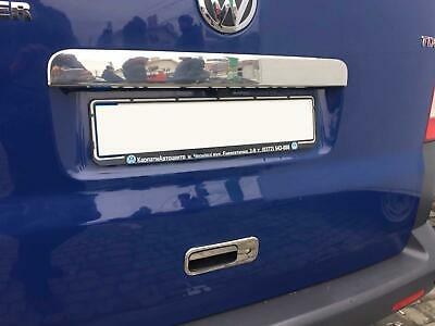 Chrome Stainless Steel Rear Door Tailgate Handle Cover VW Transporter T5 (03-15)