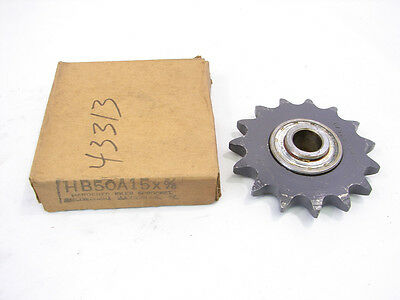"Browning Hb50A15 Hardened Idler Sprocket 5/8"" 15 Teeth ***Nib***"
