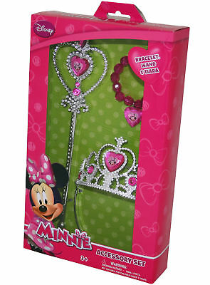 Minni Maus Prinzessinnen Set Zauberstab Krone Armband Disney Minnie Mouse 289242