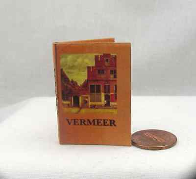 VERMEER 1:6 Scale Color Illustrated Readable Miniature Book Momoko Barbie