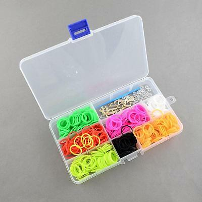 1 BOX Of DIY Loom Bands Refills Kit with Rubber Bands-9332