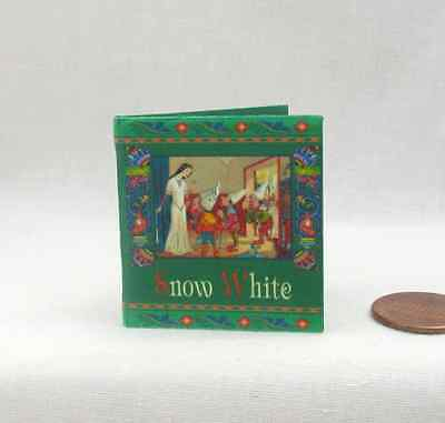 1:6 Scale Miniature ILLUSTRATED SNOW WHITE Book Readable Book Barbie Playscale