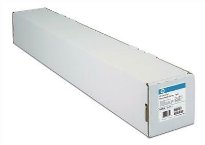 HP (610mm x 45.7m) Coated Paper on a Roll 90gsm (White) for DesignJet