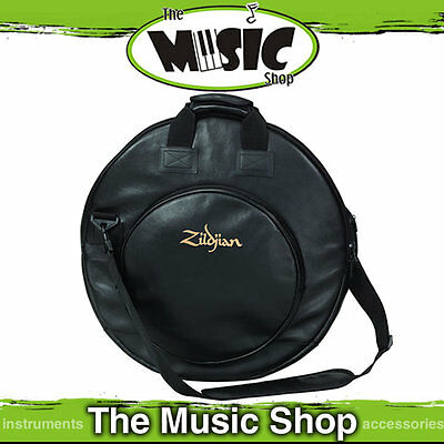 "New Zildjian 22"" Session Padded Cymbal Bag - Leather Look - PSCB"