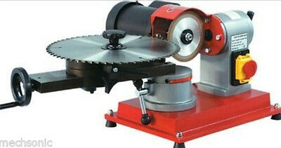 New Heavy duty 125mm Circular Saw Blade Grinder rotary Angle Mill Sharpener AUG
