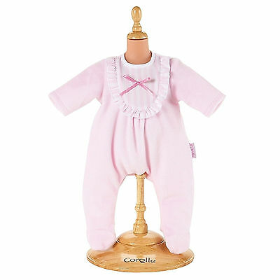 "Corolle 17"" LES CLASSIQUES PINK PAJAMAS for Baby Dolls Sleepwear NEW France"