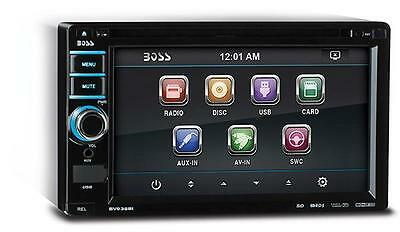 """NEW BOSS BV9368I 6.2"""" DOUBLE DIN TOUCHSCREEN TFT MONITOR RECEIVER DVD/AM/FM/USB"""