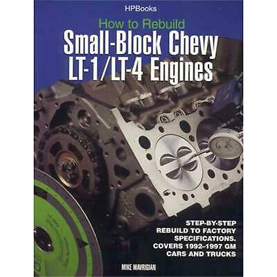 HP Books HP1393 Reference Book Rebuild Chevy LT1/LT4