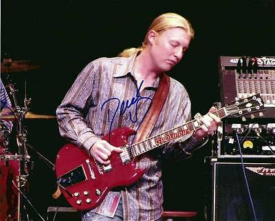 "DEREK TRUCKS SIGNED 8""X10"" PHOTO RP,THE ALLMAN BROTHERS BAND,"