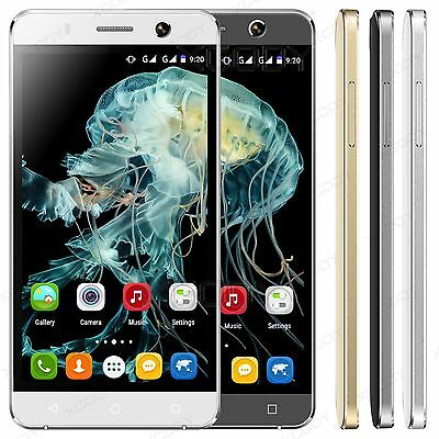 "5"" 8MP Dual Sim Android 4.4 Smartphone Quad Core Unlocked 3G/GSM GPS Cell Phone"