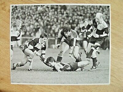 Cardiff v Barbarians 1986 Original Rugby Press Photograph