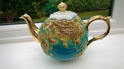 CARDEW WORLD GLOBE TEAPOT, ETERNI-TEA, MADE IN ENGLAND, LIMITED EDITION