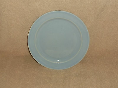 """T.S.& T. LuRay Pastel 7 1/4"""" Plate Blue"""