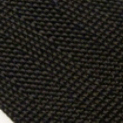 "5 Metres of Black Military Specification 50mm / 2"" Webbing ( Herringbone Weave"