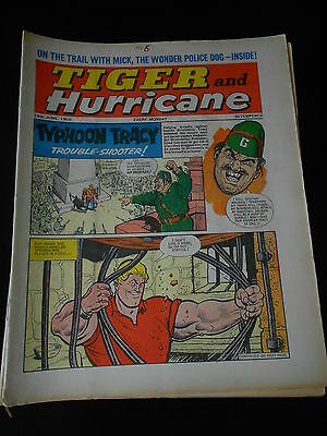 Tiger and Hurricane Comic 19th June 1965