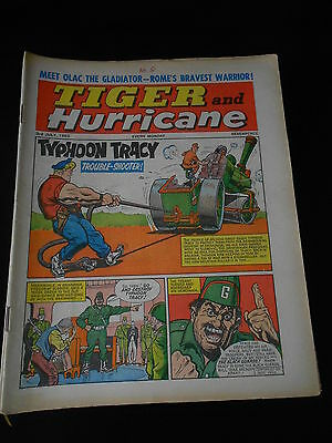 Tiger and Hurricane Comic 3rd July 1965