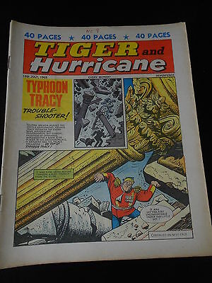 Tiger and Hurricane Comic 10th July 1965
