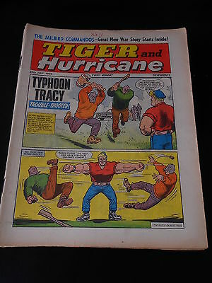 Tiger and Hurricane Comic 24th July 1965
