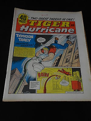 Tiger and Hurricane Comic 21st August 1965